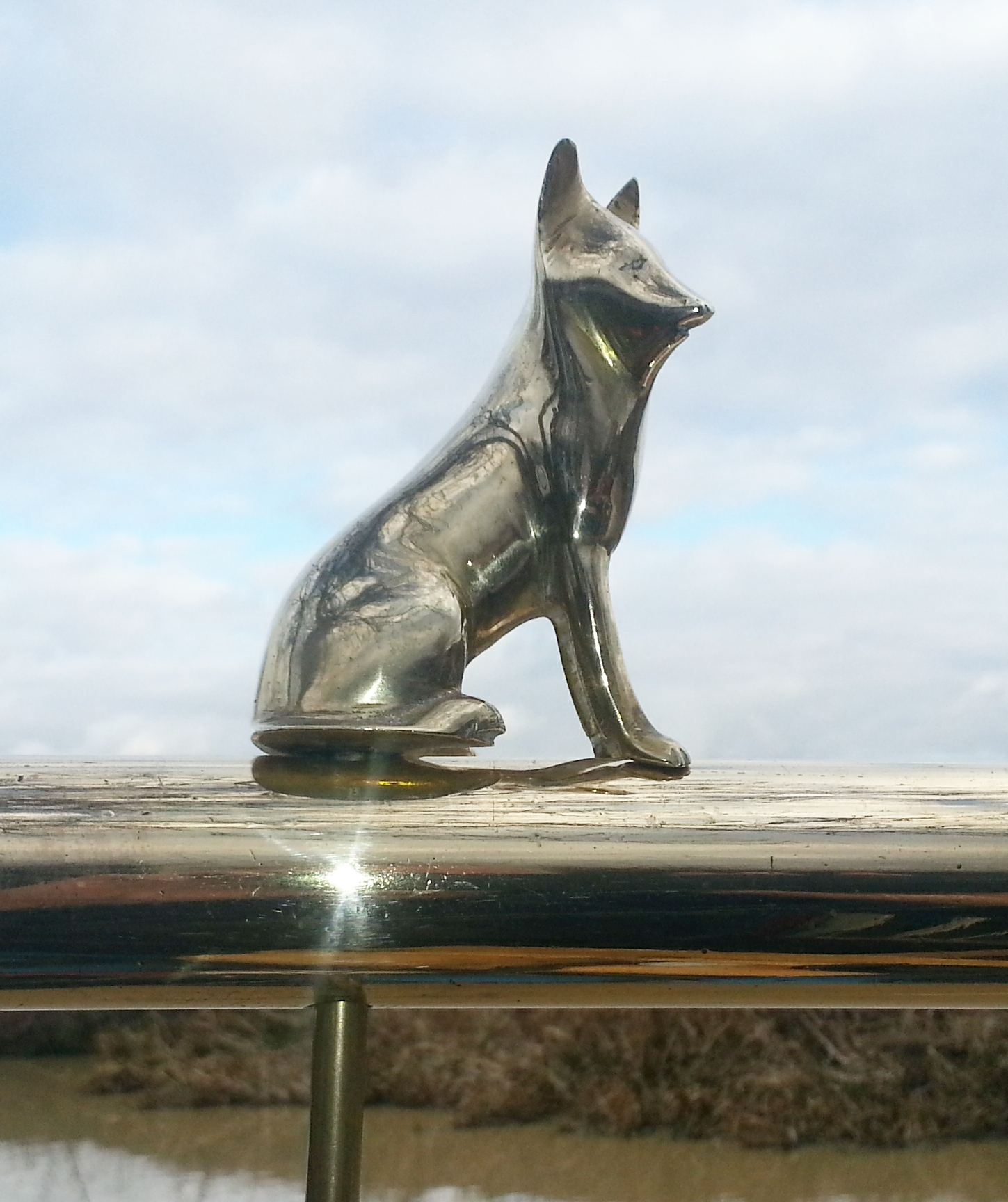 German Shepherd Dog Tiller Pin